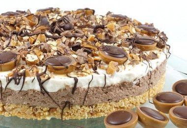 cremige Toffifee Torte backen