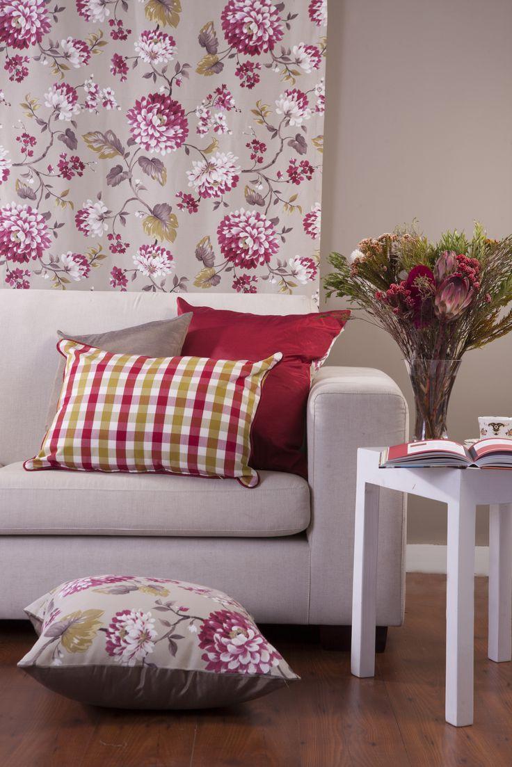 Country Rose furnishing fabrics