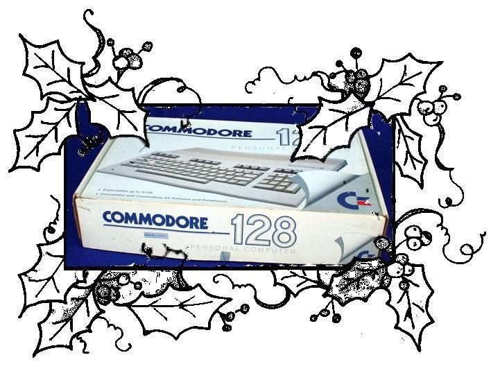 Storie di Natali Interlogici --- aspettando Natale 2013  Sono passati piu' di 20 anni da quel giorno di Natale, ma il futuro interlogico si ricorda ancora che la prima operazione fatta con il Commodore 128 fu quella di prendere il manuale di istruzioni e cominciare a copiare i primi listati. La seconda, programmare un videogioco.
