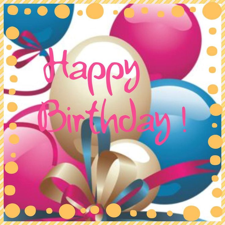 Bday Wishes Images: Happy Birthday Messages On Pinterest. A Selection Of The