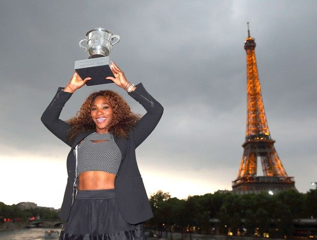 Tênis, Serena Williams (Foto: Getty Images)
