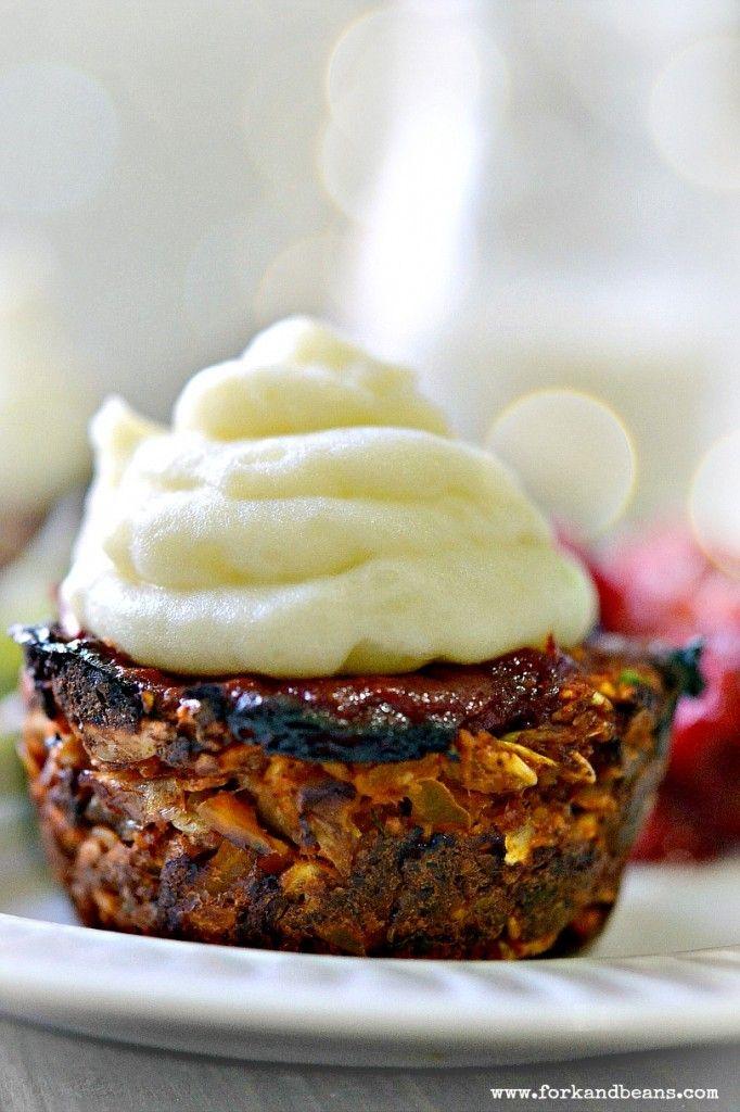 Vegan Vegan Meatloaf Cupcakes by Fork and Beans Website