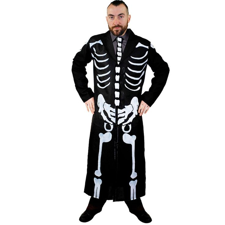 Wear the Iconic Skeleton Suit and Tie from the latest James Bond Block Buster Movie! You'll be looking like the most dapper gent at any Fancy Dress Party this Halloween.