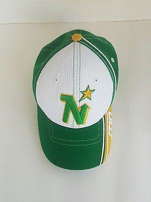 Authentic NHL Zephyr Minnesota North Stars Breakaway Green Baseball Cap