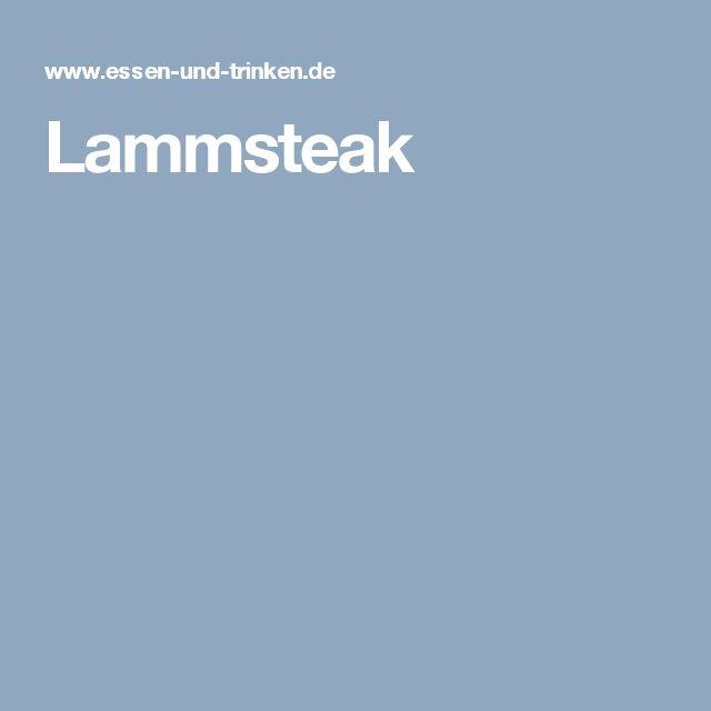Lammsteak