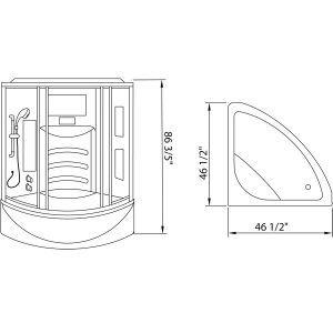 corner shower sizes standard. Standard Bathtub Shower Size Best 25  tub size ideas on Pinterest pans and