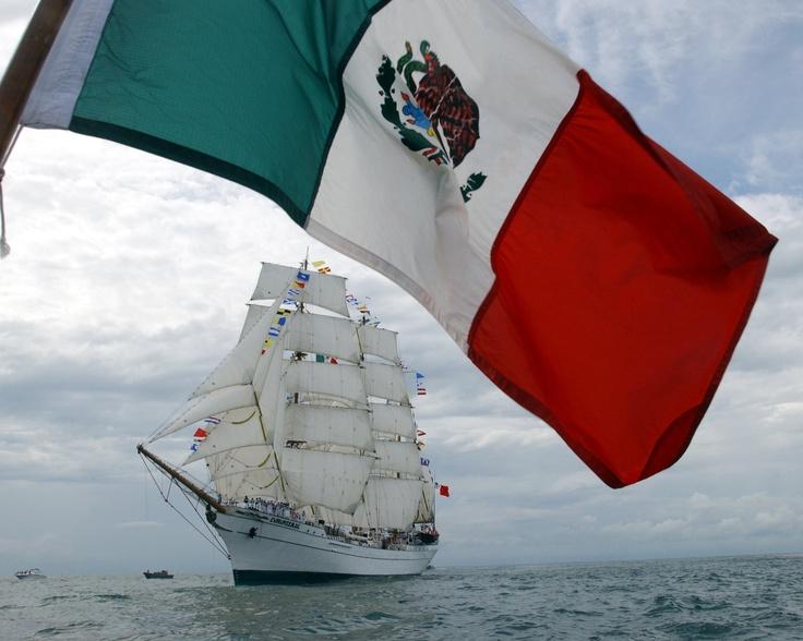 """Buque Escuela """"Cuautemoc"""" zurcando los mares, Armada de México, Semar Infanteria de Marina Mx!"""