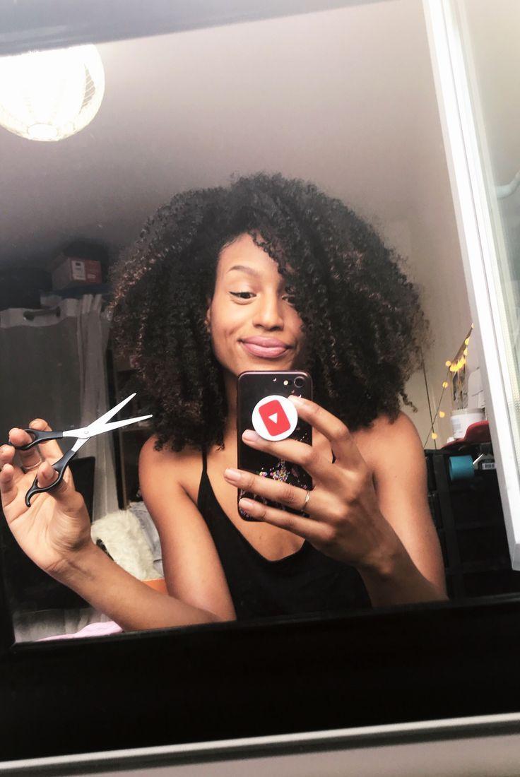 Nous voulons qu'ils grandissent, mais nous voulons aussi les couper – de courtes boucles naturelles – …   – Cheveux Crépus