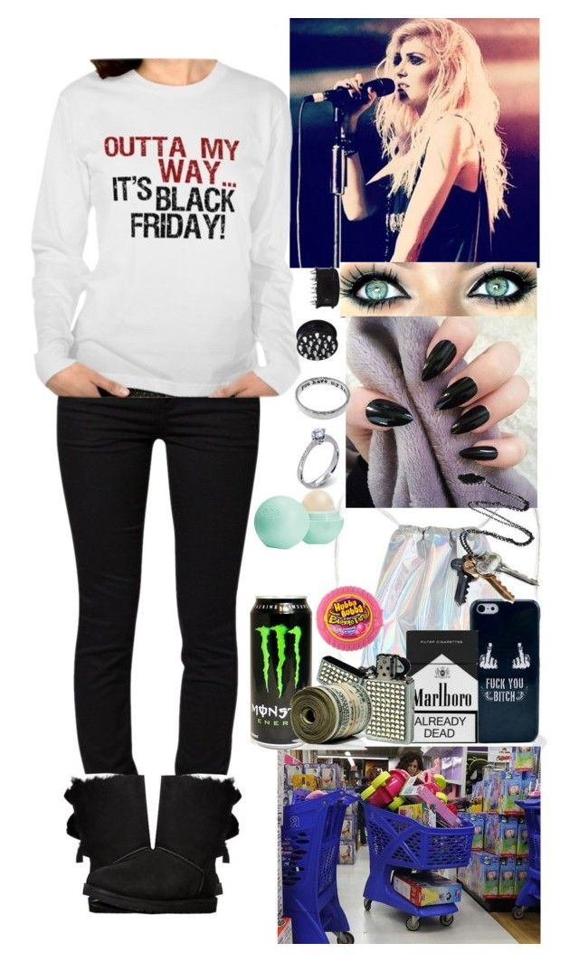 Black Friday by forever-can-be-a-second on Polyvore featuring moda, ONLY, UGG Australia, Stolen Girlfriends Club, Monday, Eos and River Island