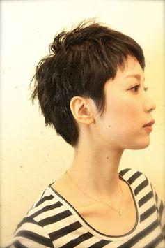 表参道の美容室、美容院【gokan 表参道】 ヘアスタイル - 大人黒髪ショート