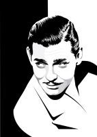 Clark Gable by pin-n-needles
