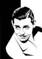 Clark Gable by pin-n-needles