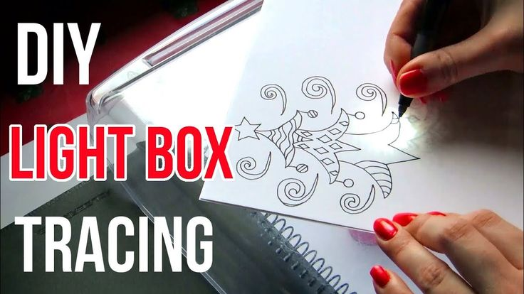 DIY Light Box Tracing || Art Tips. DIY light box tracing method. I'll show you a simple way to trace your drawings and sketches for inking with a DIY light box. I made outline drawings in pencil in my sketchbook and inked them onto a blank paper using this DIY light box tracing method.