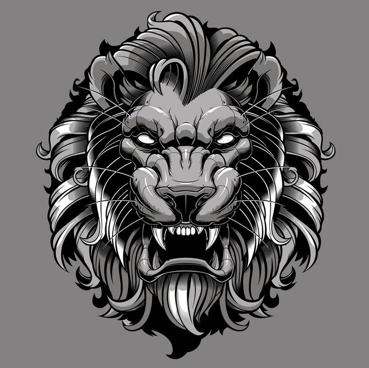 Lion vector-vector illustration-sweyda-vector lion.jpg