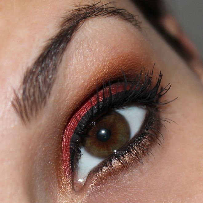 #TeamGermany #MakeUp #WMFinale http://www.talasia.de/2014/07/13/eyes-team-germany-wm-2014-finale/ #eotd #amu #eyemakeup