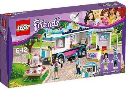 Amazon.com : LEGO Friends Set #41056 Heartlake News Van : Toys & Games