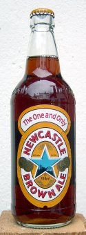 Newcastle Brown Ale - they should team up their blue star with converse's