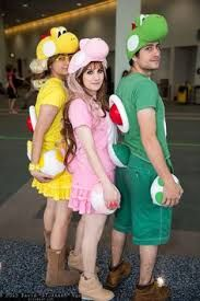 Image result for homemade yoshi costume