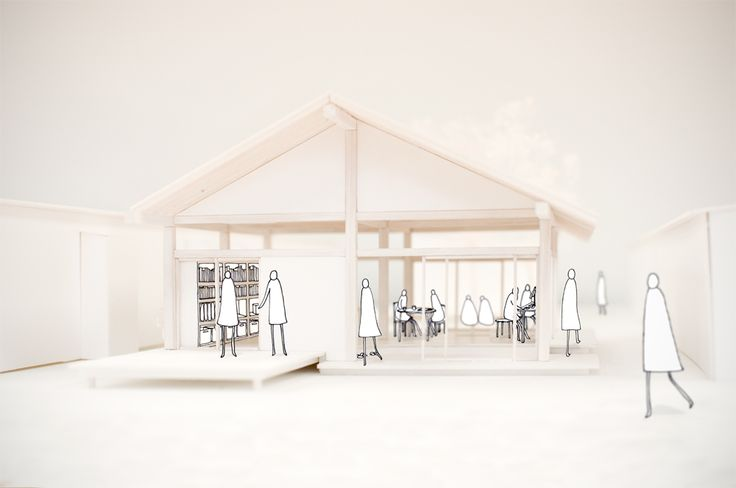 """""""Home for All"""" studio with Toyo Ito in Tokyo. Community centers designed in a temporary housing facility for tsunami survivors. [[MORE]] Options Studio at the GSD - Platform Selection Spring 2012 Collaboration with John Todd and Hattie Stroud"""