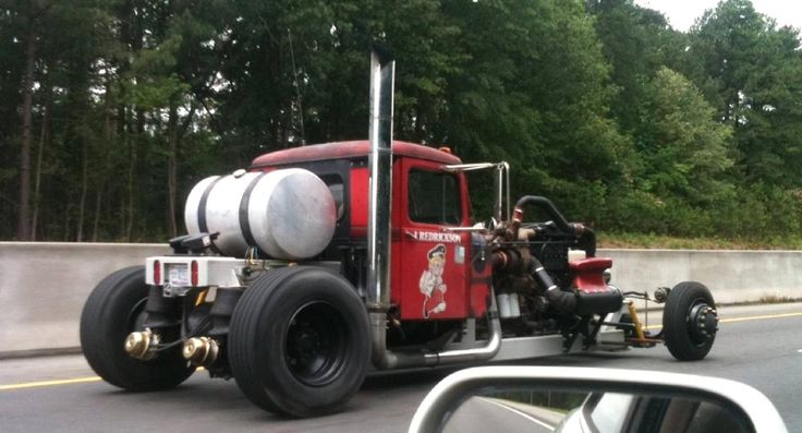 Big Rig Rod : Best images about rat rods gassers on pinterest