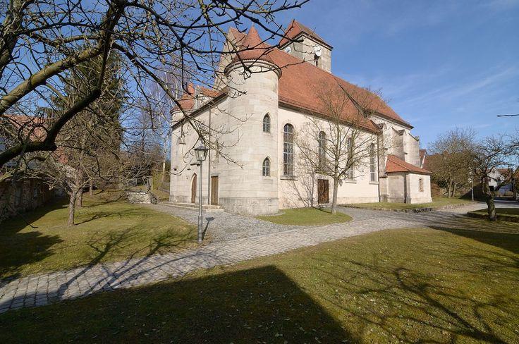 Gutenstetten, Evan.Luth. Pfarrkirche St. Johannes Baptist und Laurentius