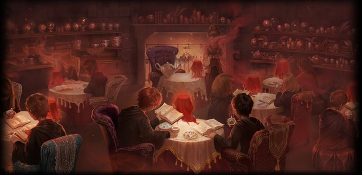 Divination Class With Professor Trelawny Third Year