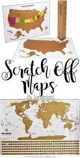 Gifts for the Traveler | Scratch off Maps | Fun Maps | Interactive Maps | Travel gifts