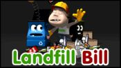 Landfill Bill - Recycle Michael has gone on holiday and Landfill Bill has been given the task of cleaning up. He must throw the recycle-able items in to the correct bins before the land gets covered in rubbish. www.primarygames.com