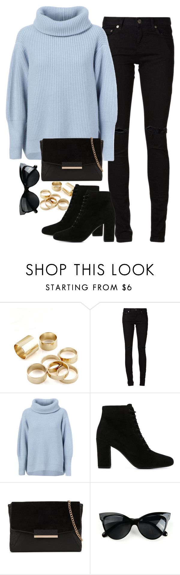"""Untitled #603"" by weyheytati ❤ liked on Polyvore featuring мода, Yves Saint Laurent, Maison Ullens и ALDO"