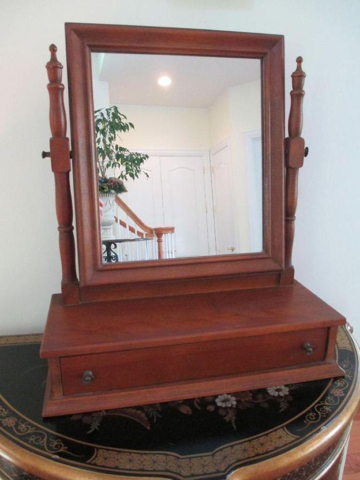 Ethan Allen Maple Vanity Mirror Ethan Allen Furniture