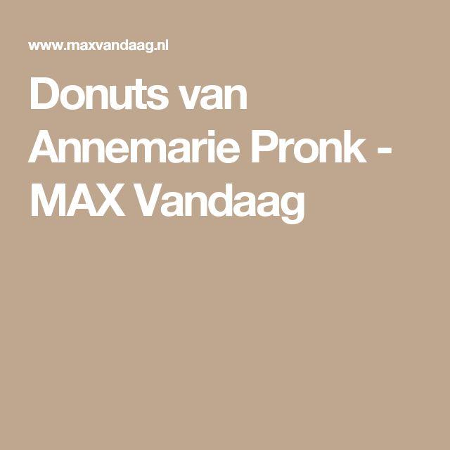 Donuts van Annemarie Pronk - MAX Vandaag