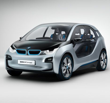The BMW Concept i3 - Deliver at noon.