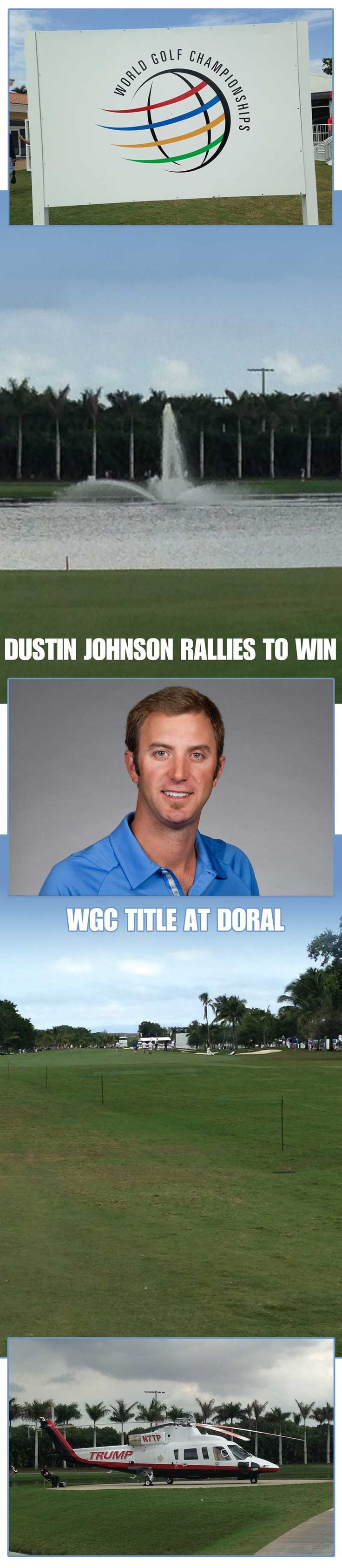 "Dustin Johnson has had a seven month stretch unlike any other in his life. It was 7 months ago that the Jupiter resident announced that he was taking a six month leave of absence to deal with ""personal issues"". Shortly thereafter, golf.com released a report saying it was actually a six month suspension for a failed drug test. Johnson denied that report many times but either way he wasn't playing golf for six months, that much we knew. follow me on www.twitter.com/danhausergolf"