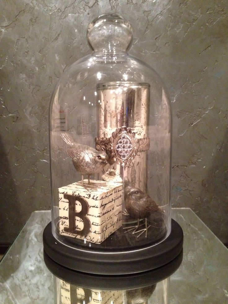 oltre 25 fantastiche idee su campane di vetro su pinterest. Black Bedroom Furniture Sets. Home Design Ideas