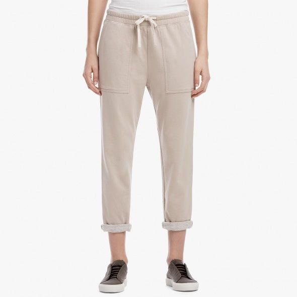 TWO-TONE FRENCH TERRY SWEATPANT