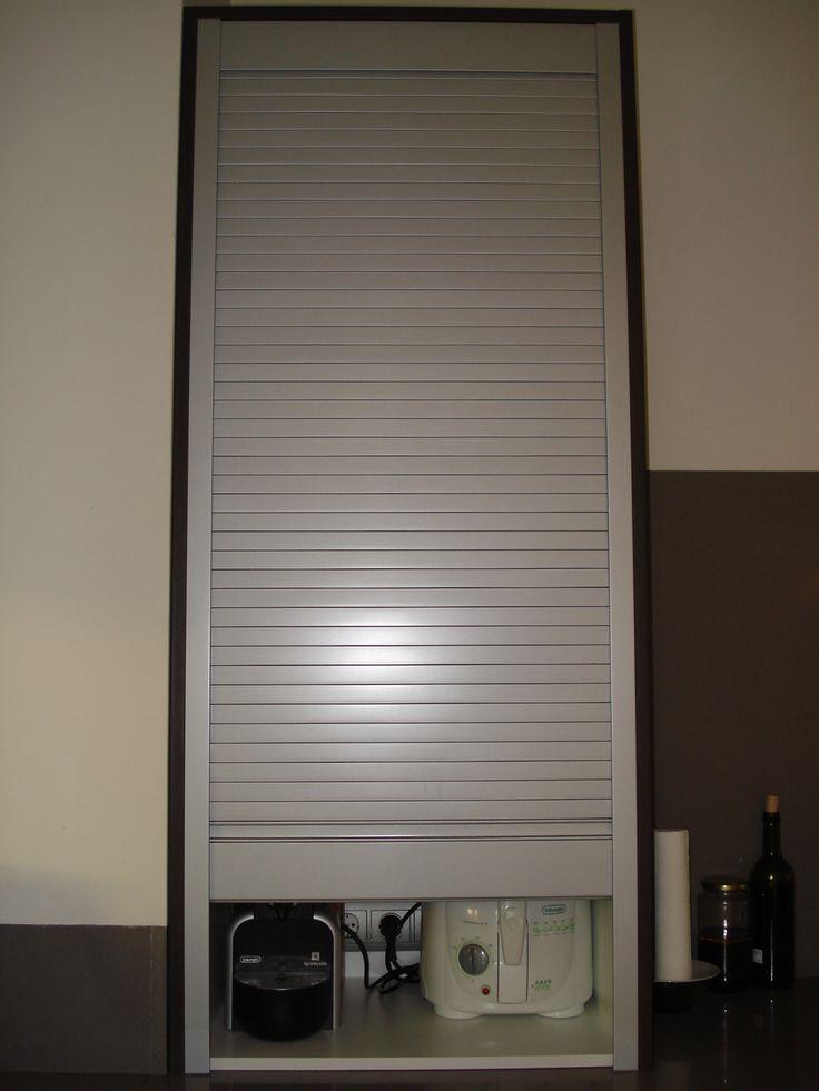 puerta opaca persianera de plastico