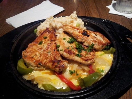 Sizzling Chicken & Cheese aka my old faithful from TGI Friday
