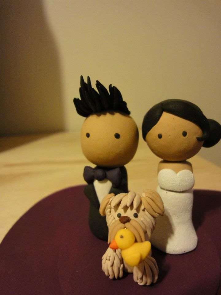 #Wedding #Cake Topper for Meiling and Marcus #deeconstructed #whiskuponastar
