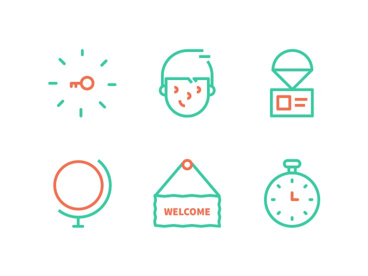 Email Icons by Dmitri Litvinov for Input Logic