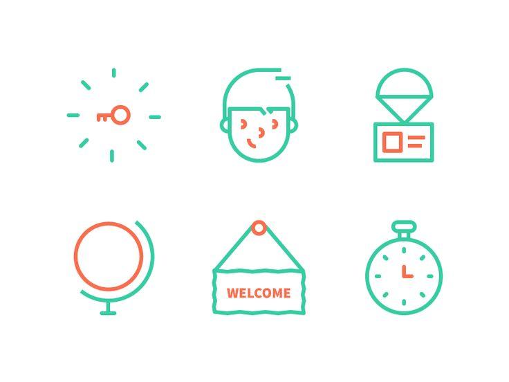 Email Icons by Dmitri Litvinov for Input Logic