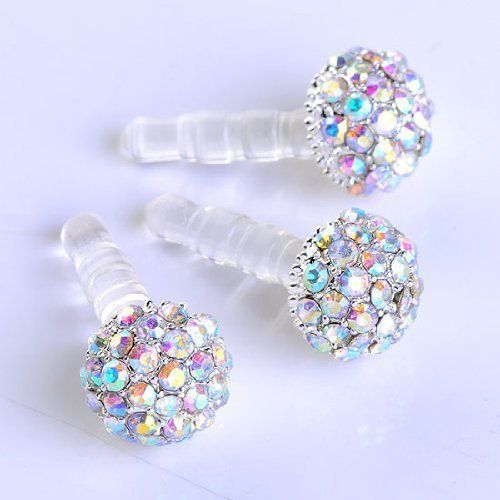 Super Crystal Dust Plug-earphone Jack Accessories Real Gold Plating 3D Sexy Cat Opal with long-tailed Cell Charms / Dust Plug / Ear Jack (for Samsung galaxy S4 i9500, iPhone 3 3GS 4 4S 5, iPad 1 2 3 4 mini, Google Nexus 4, Samsung Note 2 N7100, galaxy S3 on Wanelo