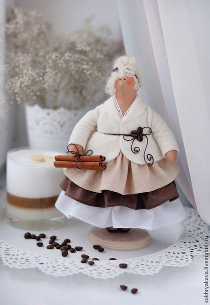 Куклы Тильды ручной работы: Толстушка Латте. Handmade.