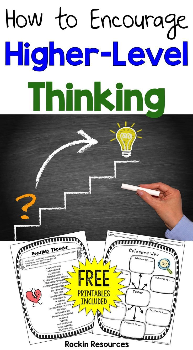 What is an effective way to get your students thinking at a deeper level? Let me share what works well for my students on a blog post at Minds in Bloom! After you read the post and you think it will fit well with your class, there will be a link to downlo