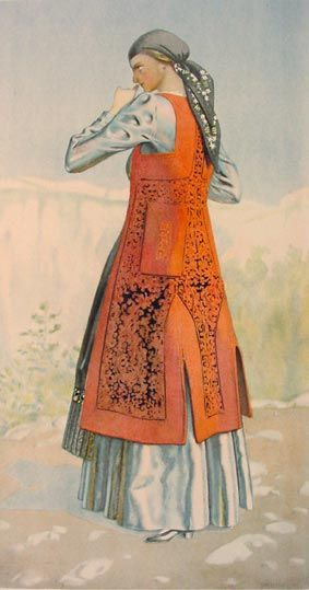 #41d - Peasant Woman's Dress (Epirus, Zagori)
