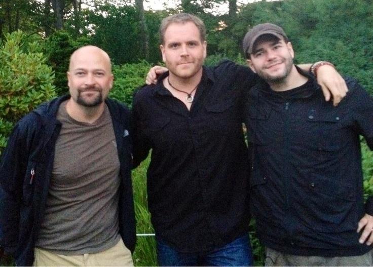 Jason Hawes, Josh Gates and Steve Gonsalves. Ghost Hunters + Destination Truth = Happy Girl, OH MY GOD YES!!!!!!! Especially Josh & Steve