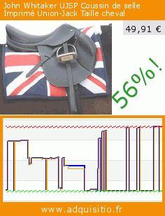 John Whitaker UJSP Coussin de selle Imprimé Union-Jack Taille cheval (Sport). Réduction de 56%! Prix actuel 49,91 €, l'ancien prix était de 113,26 €. https://www.adquisitio.fr/john-whitaker/ujsp-coussin-selle