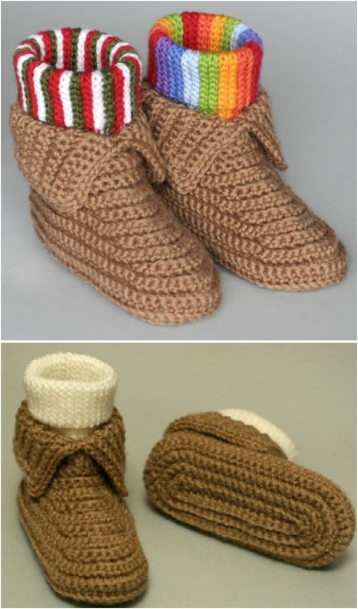 Crochet Boots Pattern + Video