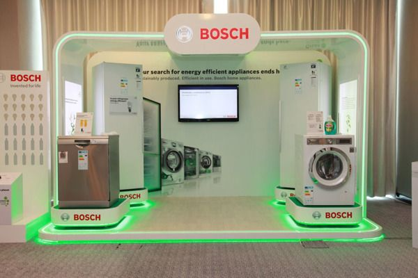 BOSCH Home Appliances Point of Display on Behance