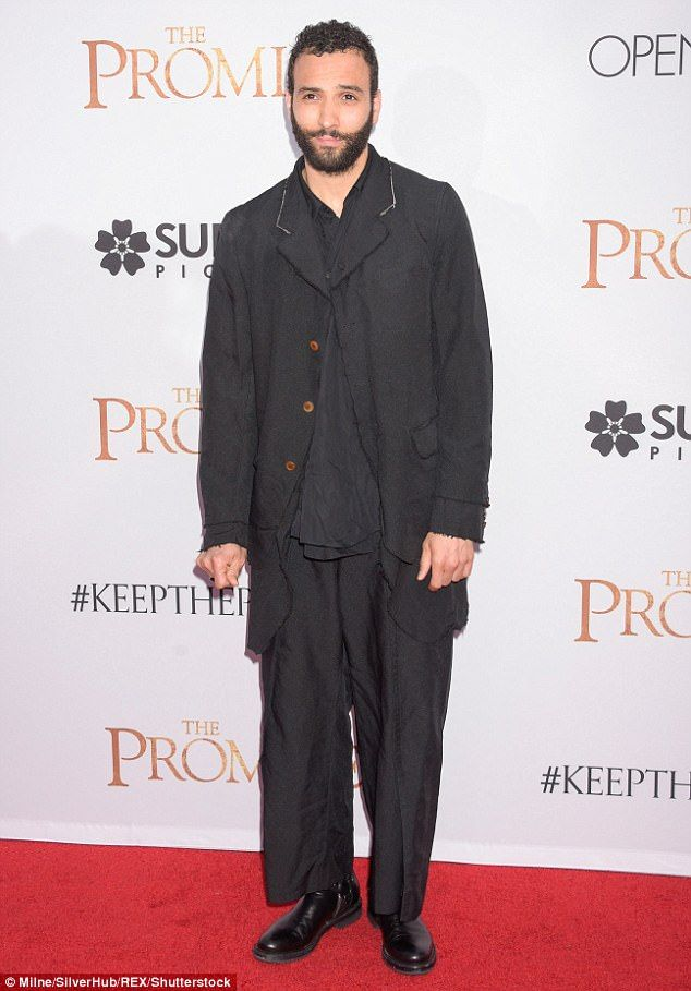Surprise! Marwan Kenzari is in negotiations to play the character for the upcoming live action Aladdin film, according to the Hollywood Reporter ; pictured in April at The Promise premiere