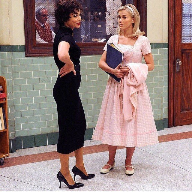 Love my Rizzo so much!!! I want to be like you when I grow up! ❤️❤️ #GreaseLIVE #tonight on FOX